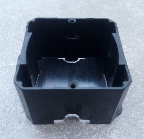 WBB-1 Well szerelvénydoboz 1-es fekete