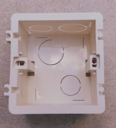 WBW-1  Well szerelvénydoboz érintőkapcsolóhoz 1-es